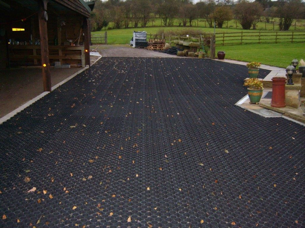 Groundgridz Permeable Pavers Cellular Paving