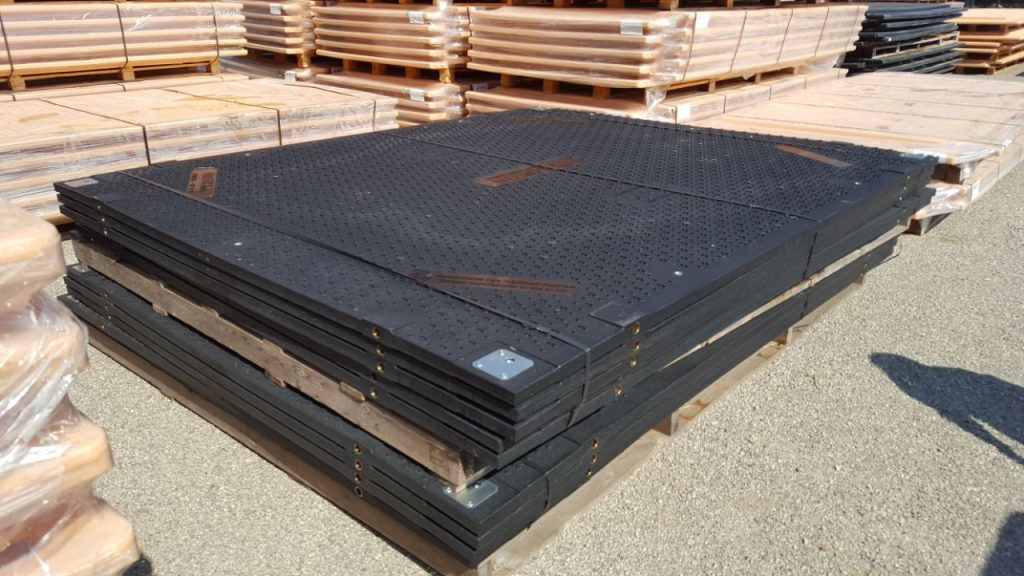 Isotrack H Heavy Duty Ground Protection Mats Temporary